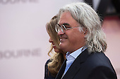 London, UK. 11 July 2016. Director Paul Greengrass. Red carpet arrivals for the European Premiere of the Universal movie Jason Bourne (2016) in London's Leicester Square.
