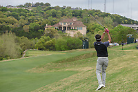 Bubba Watson (USA) hits his approach shot on 2 during day 5 of the World Golf Championships, Dell Match Play, Austin Country Club, Austin, Texas. 3/25/2018.<br /> Picture: Golffile | Ken Murray<br /> <br /> <br /> All photo usage must carry mandatory copyright credit (© Golffile | Ken Murray)