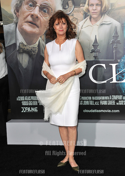 "Susan Sarandon at the Los Angeles premiere of ""Cloud Atlas"" at Grauman's Chinese Theatre, Hollywood..October 24, 2012  Los Angeles, CA.Picture: Paul Smith / Featureflash"