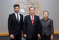 Ricky Martin speaks about homophobia at the United Nations