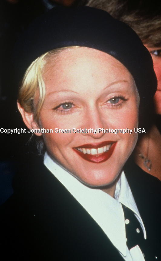 Madonna Arrives At Malcom X<br /> Movie Premiere In NYC 1993<br /> By Jonathan Green
