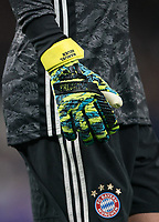 The Adidas Predator goalkeeping glove of Goalkeeper Manuel Neuer of Bayern Munich during the UEFA Champions League group match between Tottenham Hotspur and Bayern Munich at Wembley Stadium, London, England on 1 October 2019. Photo by Andy Rowland.