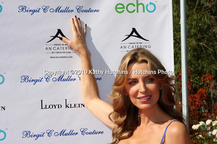 Sandra Vidal.arrives at the Birgit C. Muller Fashion Show at.Chaves Ranch in.Los Angeles, CA on.July 11, 2010.©2010 Kathy Hutchins / Hutchins Photo.....
