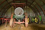 Albert Bossert's 1922 Alman Taylor 40/60 and John Deere tractors