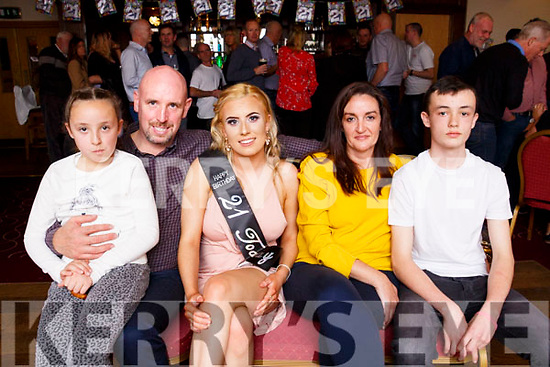 Birthday girl Erika Griffin enjoying the celebrations with her family and friends in the Kerins O'Rahillys Strand Road Club on Saturday night last.