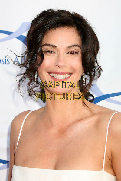 TERI HATCHER.6th Annual Comedy For A Cure at The Music Box Theatre, Hollywood, California, USA..April 1st, 2007.headshot portrait bruise hickey .CAP/ADM/BP.©Byron Purvis/AdMedia/Capital Pictures