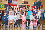 Family Party: New York rose Erin Loughran atttending a party held in her honour by her Irish family from Asdee, Ballylongford and Moyvane in Speedie's Bar , Moyvane on Thursday night last.