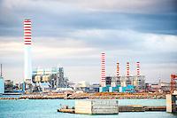 Taranto, Italia, ILVA Impianti siderurgici