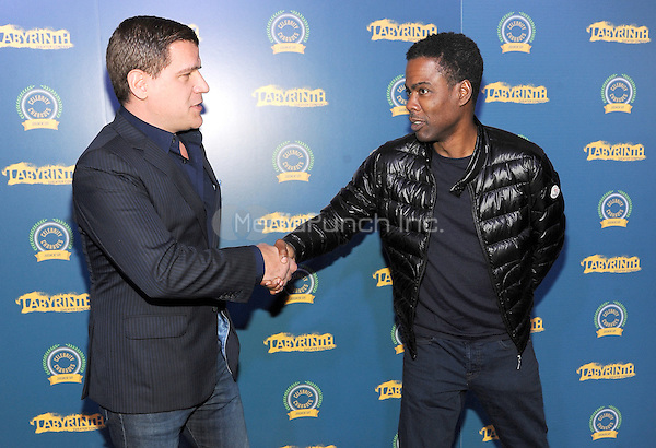 New York, NY- October 23:  Tom Murro and Chris Rock attend the Labyrinth Theater Company Celebrity Charades 2014:Judgment Day at Capitale on October 27, 2014 in New York City. Credit: John Palmer/MediaPunch