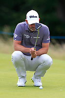 Paul Waring (ENG) on the 10th during Round 2 of the Aberdeen Standard Investments Scottish Open 2019 at The Renaissance Club, North Berwick, Scotland on Friday 12th July 2019.<br /> Picture:  Thos Caffrey / Golffile<br /> <br /> All photos usage must carry mandatory copyright credit (© Golffile | Thos Caffrey)