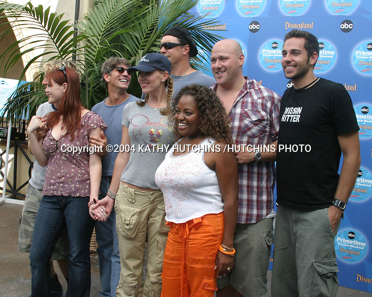 ©2004 KATHY HUTCHINS /HUTCHINS PHOTO.ABC PRIMETIME PREVIEW WEEKEND 2004.ANAHEIM, CA.SEPTEMBER 11, 2004..LESS THAN PERFECT CAST