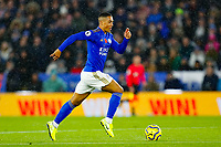 9th November 2019; King Power Stadium, Leicester, Midlands, England; English Premier League Football, Leicester City versus Arsenal; Youri Tielemans of Leicester City on the ball - Strictly Editorial Use Only. No use with unauthorized audio, video, data, fixture lists, club/league logos or 'live' services. Online in-match use limited to 120 images, no video emulation. No use in betting, games or single club/league/player publications
