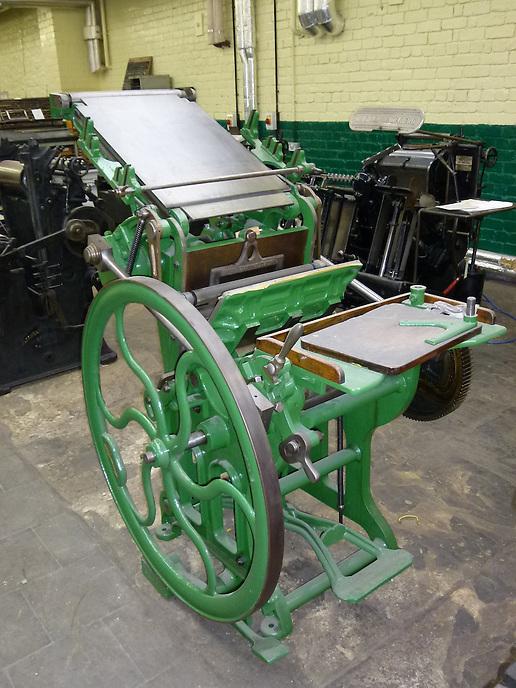 Printing Machine, Printing Machines, Pedal Power, Hand Fed Platens,Green Machines,Printing,