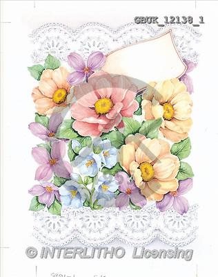 Stephen, FLOWERS, paintings(GBUK12138/1,#F#) Blumen, flores, illustrations, pinturas ,everyday