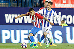 Atletico de Madrid's Angel Correa (l) and Real Sociedad's Juanmi Jimenez during La Liga match. April 4,2017. (ALTERPHOTOS/Acero)
