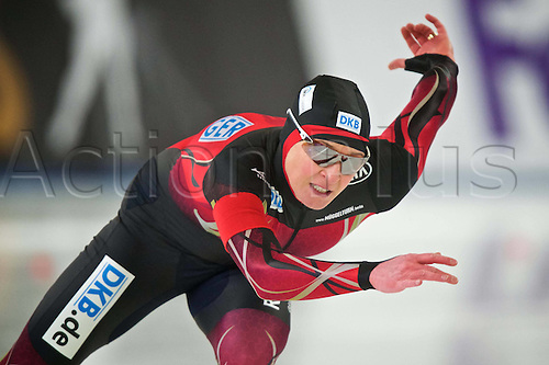 05.03.2016. Berlin Germany. World Championships of Speed skating.   500m Womens Claudia Pechstein ger