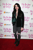 HOLLYWOOD, CA - February 12: Adrienne Whitney Papp, at Premiere Of Vision Films' 'For The Love Of George' at TCL Chinese 6 Theatres in Hollywood, California on February 12, 2018. Credit: Faye Sadou/MediaPunch