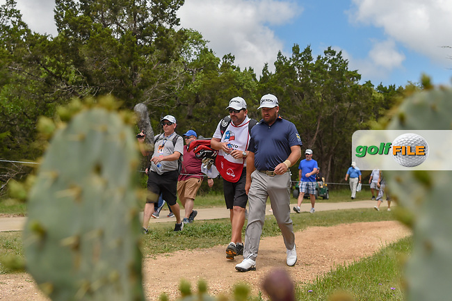 Graeme McDowell (NIR) makes his way to the tee on 2 during day 1 of the Valero Texas Open, at the TPC San Antonio Oaks Course, San Antonio, Texas, USA. 4/4/2019.<br /> Picture: Golffile | Ken Murray<br /> <br /> <br /> All photo usage must carry mandatory copyright credit (© Golffile | Ken Murray)