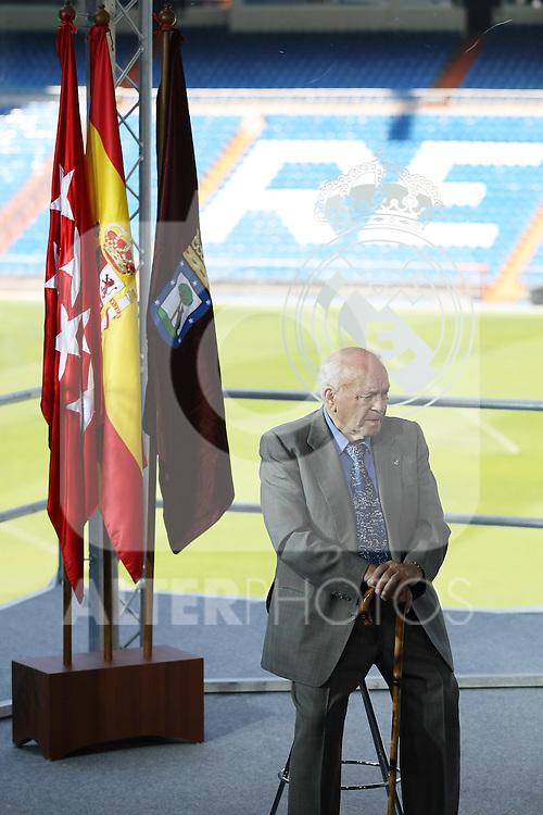 Real Madrid's Honor President Alfredo  Di Stefano  .June 1 2009. (ALTERPHOTOS/Acero).