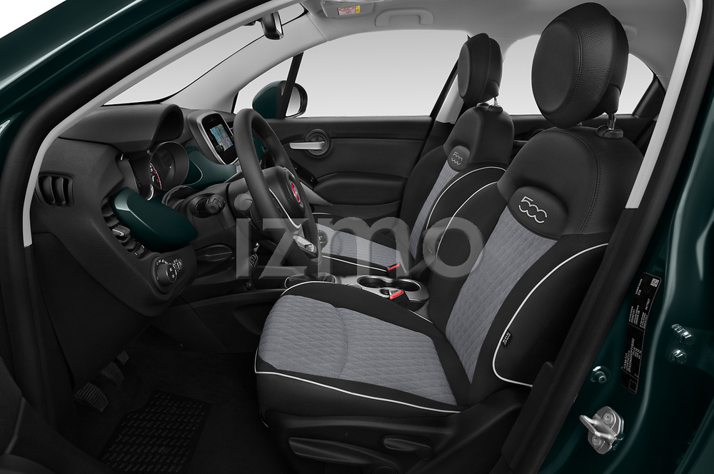 Front seat view of 2019 Fiat 500X City-Cross 5 Door SUV Front Seat  car photos