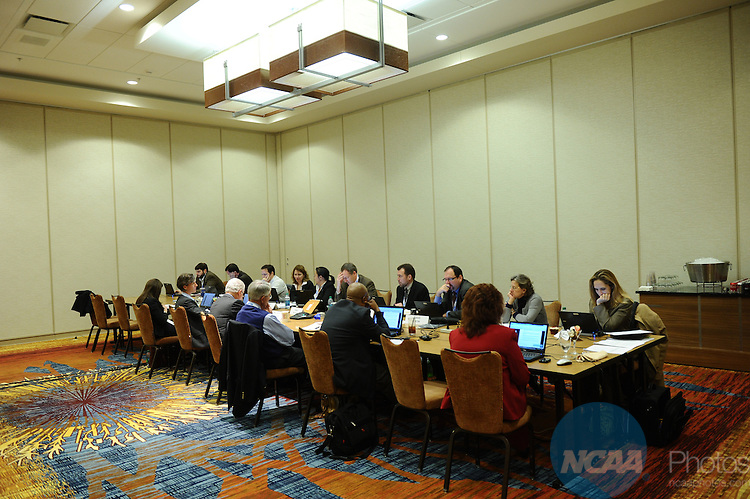 11 JAN 2012: The Division I Committee on Academic Performance at the 2012 NCAA Convention held at the JW Marriott and Indianapolis Convention Center in Indianapolis, IN.  Stephen Nowland/NCAA Photos.