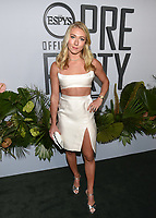 "09 July 2019 - Los Angeles, California - Mikaela Shiffrin. ESPN ""The ESPYS Official Pre-Party"" held at the Hotel Figueroa. Photo Credit: Billy Bennight/AdMedia"