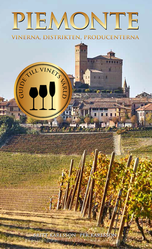 Piemonte - vinerna, distrikten, producenterna. Omslag