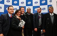 CURITIBA, PR, 21.06.2016 - JUSTIÇA-PR-  Delagados da policia federal durante o lançamento do livro do jornalista Vladimir Netto sobre a Lava Jato na noite desta terça-feira (21) em Curitiba.(Foto:Paulo Lisboa/Brazil Photo Press)