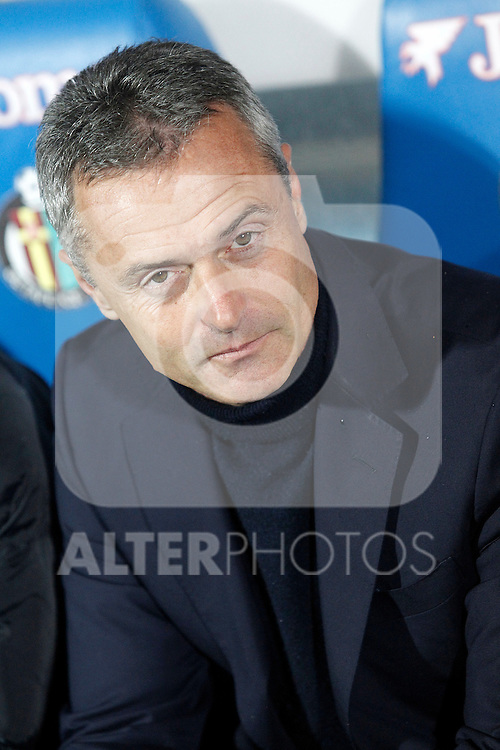 Getafe's coach Fran Escriba during La Liga match. March 18,2016. (ALTERPHOTOS/Acero)