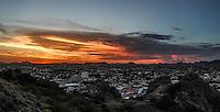 Atardecer sobre la ciudad de Hermosillo, una de las mas calurosas de Mexico.<br /> <br /> * &copy; Foto:LuisGutierrez/NortePhoto.com