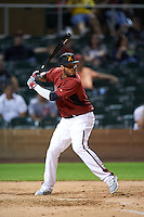 Salt River Rafters Dawel Lugo (9), of the Arizona Diamondbacks organization, during the Bowman Hitting Challenge on October 8, 2016 at the Salt River Fields at Talking Stick in Scottsdale, Arizona.  (Mike Janes/Four Seam Images)