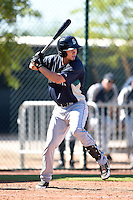 Seattle Mariners third baseman Jay Baum (2) during an Instructional League game against the Cleveland Indians on October 1, 2014 at Goodyear Training Complex in Goodyear, Arizona.  (Mike Janes/Four Seam Images)