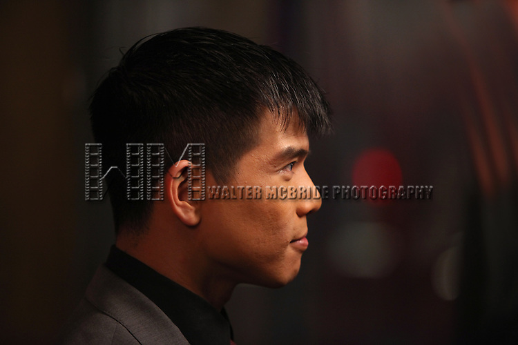 Telly Leung.attending the Opening Night Performance After Party for the Broadway Revival of 'Godspell' at Planet Hollywood in New York City.