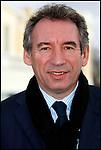 François Bayrou / Président du Mouvement Démocrate MODEM devant le Palais Gramont à Pau / 64 Pyrénées Atlantiques / Rég. Aquitaine / François Bayrou former president of the MODEM french party / France