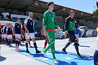 Scotland's Ross Doohan walks out onto the pitch prior to kick-off during Czech Republic Under-20 vs Scotland Under-20, Toulon Tournament Football at Stade de Lattre-de-Tassigny on 10th June 2017