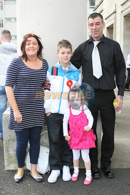 Nathan O'Connor and family at the St Joseph's Confirmation...Photo NEWSFILE/Jenny Matthews.(Photo credit should read Jenny Matthews/NEWSFILE)....This Picture has been sent you under the condtions enclosed by:.Newsfile Ltd..The Studio,.Millmount Abbey,.Drogheda,.Co Meath..Ireland..Tel: +353(0)41-9871240.Fax: +353(0)41-9871260.GSM: +353(0)86-2500958.email: pictures@newsfile.ie.www.newsfile.ie.FTP: 193.120.102.198.