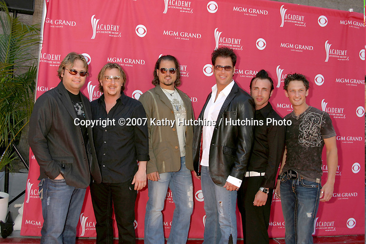 Povertyneck Hillbillies.Academy  of Country Music Awards.MGM Grand Garden Arena.Las Vegas, NV.May 15, 2007.©2007 Kathy Hutchins / Hutchins Photo....