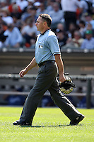 August 15 2008:  Umpire Dan Iassogna during a game at U.S. Cellular Field in Chicago, IL.  Photo by:  Mike Janes/Four Seam Images