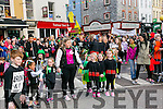 At  the  St Patrick's Day Parade on Thursday were Cassie Leen's school of Dance