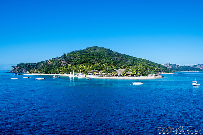 Castaway Island Resort on the the island of Qalito in Fiji