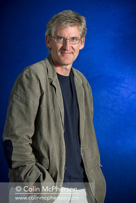 Acclaimed British lawyer and writer Clive Stafford Smith, pictured at the Edinburgh International Book Festival where he talked about his latest book entitled 'Injustice: Life and Death in the Courtrooms of America'. The three-week event is the world's biggest literary festival and is held during the annual Edinburgh Festival. The 2012 event featured talks and presentations by more than 500 authors from around the world.