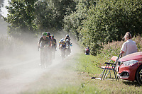 Leading group on a gravel zone<br /> <br /> 92th Schaal Sels 2017