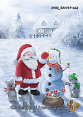 Isabella, CHRISTMAS SANTA, SNOWMAN, WEIHNACHTSMÄNNER, SCHNEEMÄNNER, PAPÁ NOEL, MUÑECOS DE NIEVE, paintings+++++,ITKE533607-ALE,#x#
