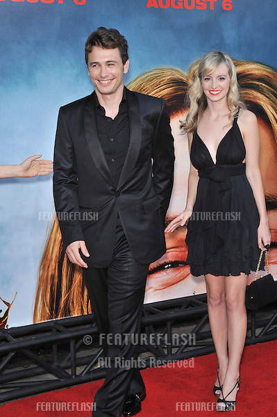 James Franco & date at the premiere of his new movie Pineapple Express at the Mann Village Theatre, Westwood..July 31, 2008  Los Angeles, CA.Picture: Paul Smith / Featureflash