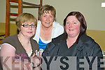 Bernice McCarthy, Kilcummin, Orla Williams, Kilcummin and Kathleen Sheehan, Firies pictured at Kerry Airport ahead of the Kerry MS pilgrimage to Lourdes on Saturday night.   Copyright Kerry's Eye 2008