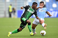 Hamed Junior Traore of US Sassuolo , Gabriel Strefezza of SPAL <br /> Reggio Emilia 22/09/2019 Stadio Citta del Tricolore <br /> Football Serie A 2019/2020 <br /> US Sassuolo - SPAL <br /> Photo Andrea Staccioli / Insidefoto