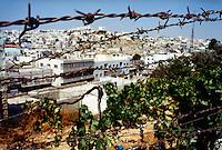 HEBRON / WEST BANK / ISRAELE.LA CITTA' DI HEBRON E' SOTTOPOSTA AD UNA PESANTE OCCUPAZIONE DA PARTE DELL'ESERCITO ISRAELIANO. CONTINUI SONO GLI SCONTRI TRA I PALESTINESI E COLONI EBREI..FOTO LIVIO SENIGALLIESI..HEBRON / WEST BANK / ISRAEL.PALESTINIAN TOWN UNDER OCCUPATION BY ISRAEL SECURITY FORCES..PHOTO LIVIO SENIGALLIESI.