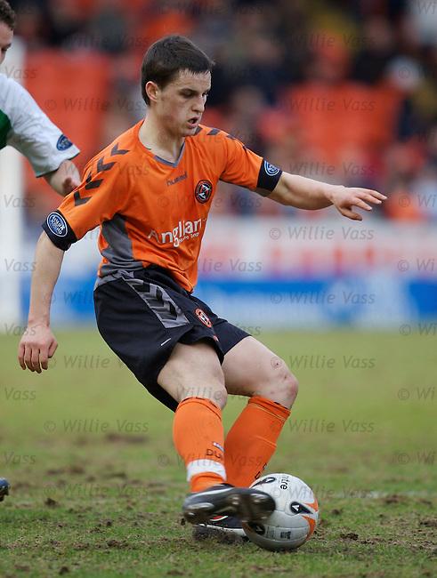 Craig Conway, Dundee Utd.stock season 2006-2007.pic willie vass