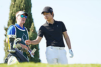 Jeunghun  Wang (KOR) during Round 3 of the Portugal Masters, Dom Pedro Victoria Golf Course, Vilamoura, Vilamoura, Portugal. 26/10/2019<br /> Picture Andy Crook / Golffile.ie<br /> <br /> All photo usage must carry mandatory copyright credit (© Golffile   Andy Crook)