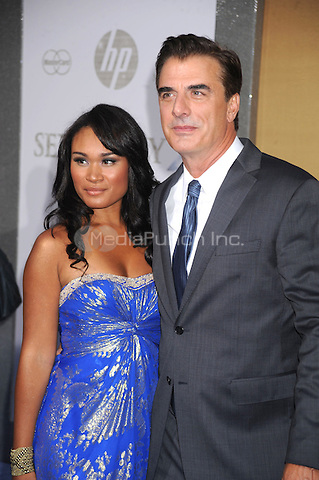 Tara Wilson and Chris Noth at the film premiere of 'Sex and the City 2' at Radio City Music Hall in New York City. May 24, 2010.Credit: Dennis Van Tine/MediaPunch